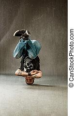 dansande, förehavanden