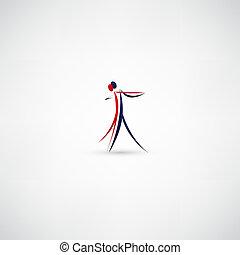 dansare, ikon