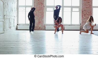 danse, équipe