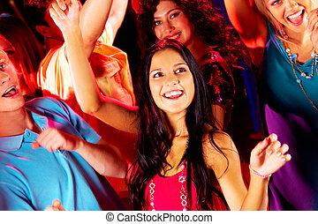 danse, amis