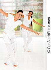 danse, classe, fitness
