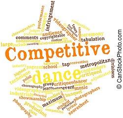 danse, compétitif