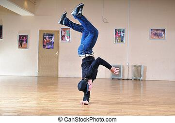 danse coupure