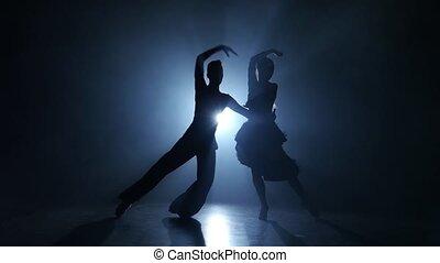 danse, enfumé, studio, exécuté, émotif, jive, gracieux, champions