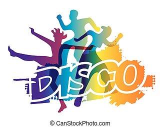 danse, fête, disco
