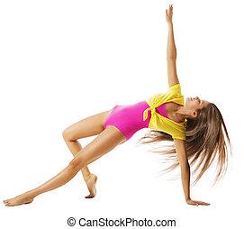 danse femme, gymnaste, gymnastique, exercisme, fitness,...