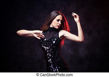 danse, femme