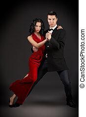 danse, romantique