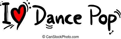 danse, style, musique, pop