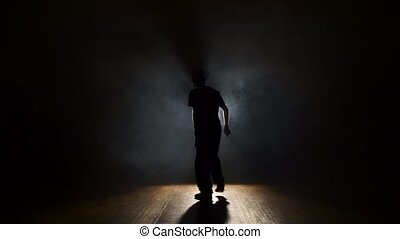 danser, in, de, smoke.