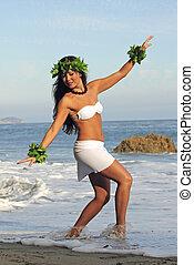 danser, polynesiër