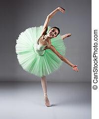danseur ballet, femme