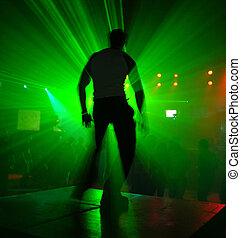 danseur, dans action