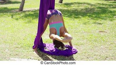 danseur gracieux, acrobatique, élaboration