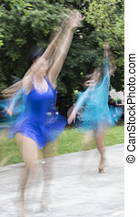 danseur gracieux