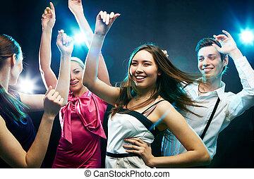 danseurs, énergique