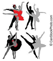 danseurs, ballet