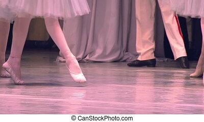 danseurs ballet, trois