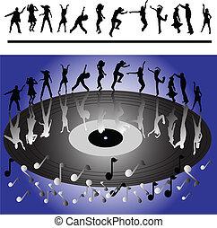 danseurs, disco