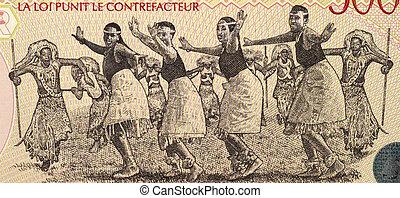 danseurs, rwanda