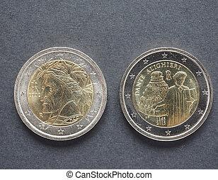 Dante Alighieri coins