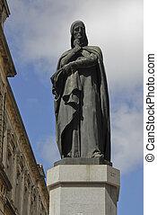 Dante Alighieri statue, Montevideo
