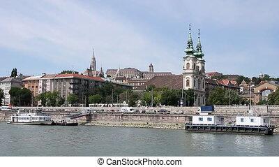 Danube river Budapest cityscape