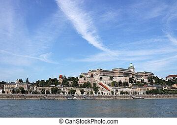 Danube riverside in Budapest