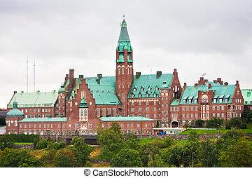danvikshem, スウェーデン, ストックホルム, 病院