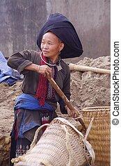 dao, zwart wijfje, ethnische