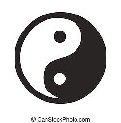 Daoism, símbolo,  vector