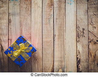 dar balit, dále, dřevo, grafické pozadí, s, proložit, jako, text.