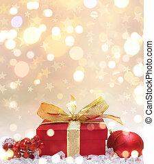 dar, boże narodzenie, tło