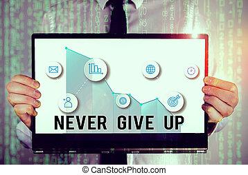 dar, conceito, escrita, texto, seu, até, suceder, seguir, cima., goals., mantenha, tentando, palavra, tu, nunca, sonhos, negócio