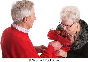 dar, dela, flores