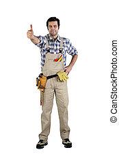 dar, thumb's, handyman, cima
