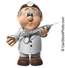 dar, wifred, tiro, dr.