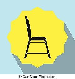 darabok, közül, furniture., konyha, chair.