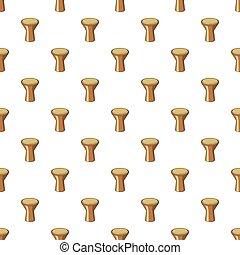 Darbuka percussive musical instrument pattern seamless...