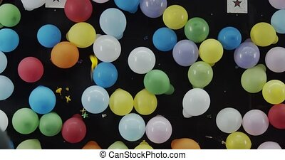 dard, jeu, fair., carnaval, balloon
