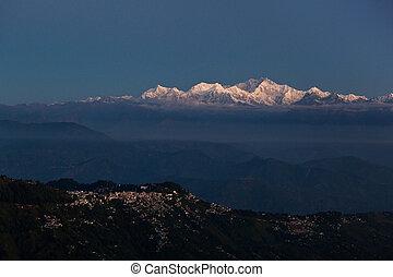 darjeeling, kangchenjunga