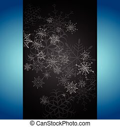 Dark abstract Christmas background