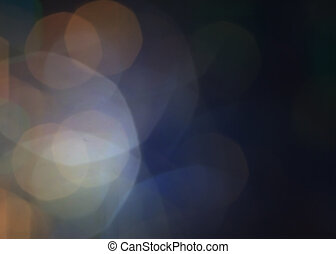 Dark Abstract Defocused Bokeh twinkling lights Vintage...