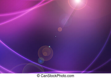 Dark Abstract Light Waves Backdrop