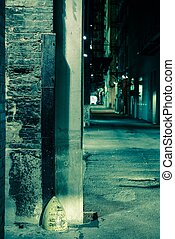 Dark Alley Corner