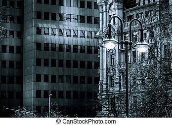 Dark Ambiance Business Tower