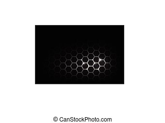 Dark and black with metal honeycomb pattern vector illustration eps 10 002
