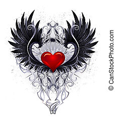 Dark angel heart