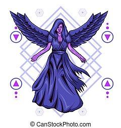 Dark Angel Sacred Geometry