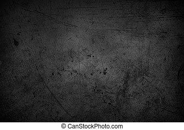 Dark background - Dark grunge textured wall background